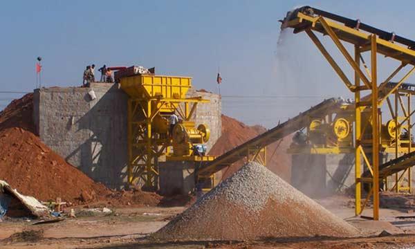 铁矿石,破碎,生产线,目前,在,国内,普遍,